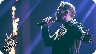 Kevin Simm performs 'Rolling In The Deep': The Live Semi Final - The Voice UK 2016