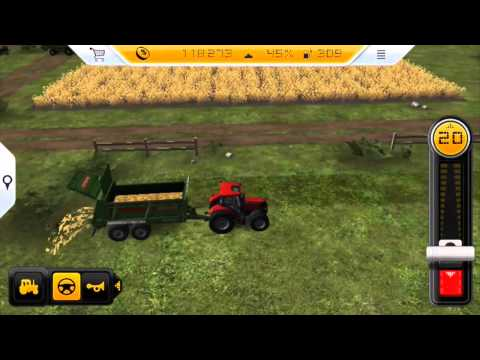 Farming Simulator 14 - Gameplay on iPhone 5s