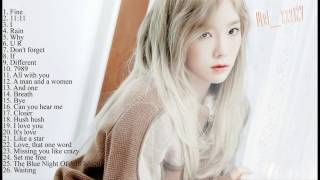 The best songs of Kim TaeYeon - SNSD MP3