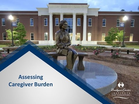 Assessing Caregiver Burden