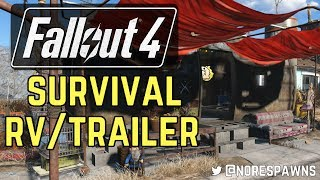 Fallout 4 - Survival RV Trailer Build