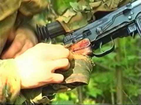 8  Спецназ ВДВ  Выставление скрытого охранения места дневки