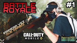 Battle Royale Cod Mobile (GAMEPLAY)  PRIMERA PARTIDA QUE GRABO... #1