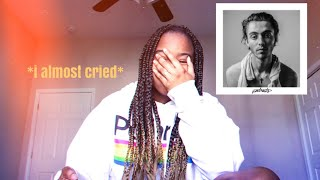 "reacting to Greyson Chance's new album ""portraits"""
