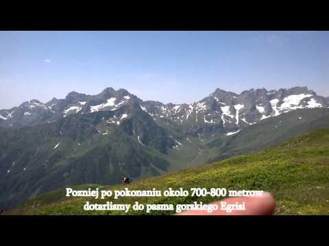 """Klub podrozy """"Tu jest moja Gruzja"""" - trekking do jeziora Tobawarczchili"""