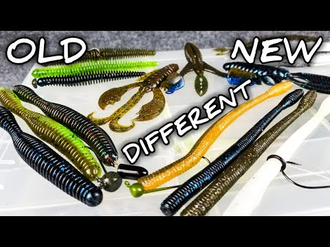 Airtails, Blades, And Snakes!? (Bass Fishing Lures From GrandeBass Are DIFFERENT!)