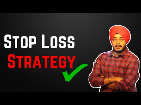 Stop Loss Strategy On Binance | Use Stop Loss In Stocks And CrytpoCurrency | Stop Loss In Trading