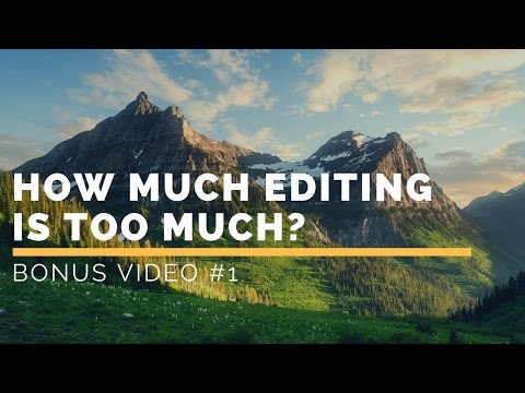 How Much Editing is Too Much in Lightroom?