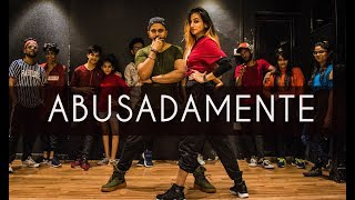 Download lagu ABUSADAMENTE | MC Gustta e MC DG | Tejas Dhoke Choreography | Dancefit Live