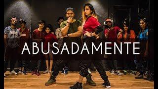 ABUSADAMENTE | MC Gustta e MC DG | Tejas Dhoke Choreography | Dancefit Live