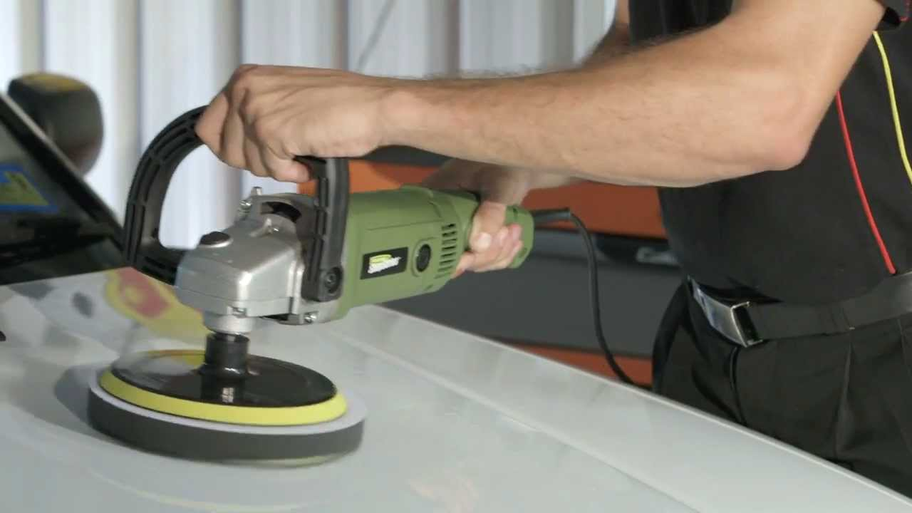 "Streetwize 240v 10/"" Inch Electric Orbital Car Vehicle Buffer Machine Polisher"