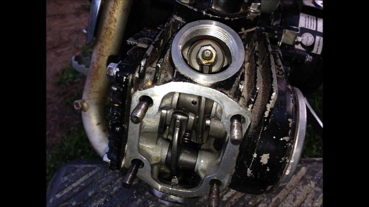 how to set valves on a pitbike