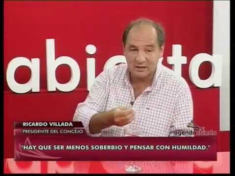 Ricardo Villada, presidente del Concejo Deliberante, en Agenda Abierta
