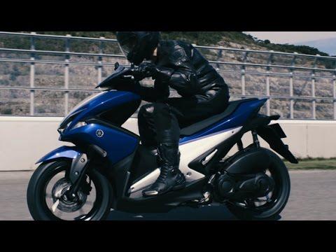 Yamaha Aerox 125 For Europe In 2018 News Scooterlab