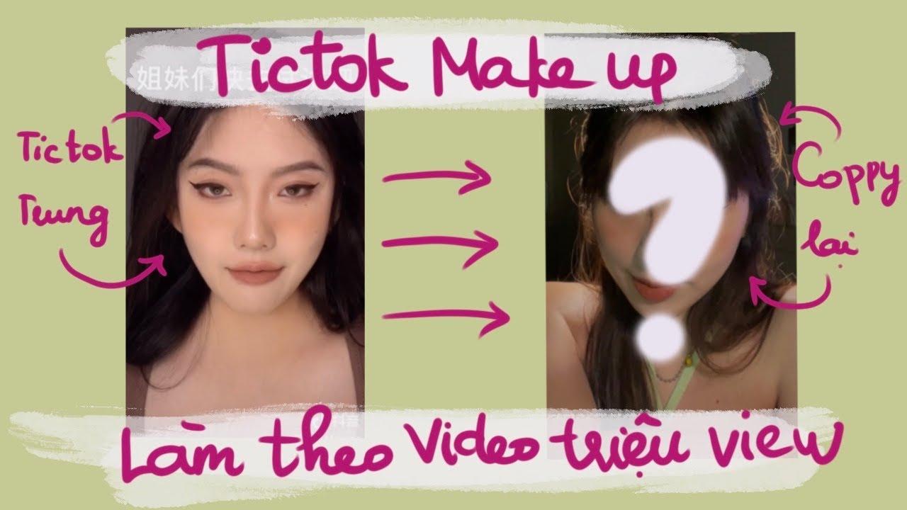 Học trang điểm theo Tiktoker triệu view | maihuong makeup