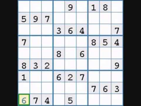 guida al sudoku livello facile prima parte youtube