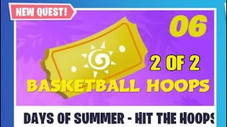 FORTNITE STW/ 14 DAYS OF SUMMER - HIT THE HOOPS ( Basketball Hoops 2 of 2 )