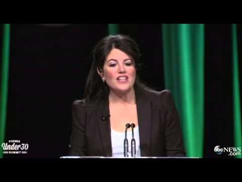 Monica Lewinsky Tears Up During Speech About Life After Bill Clinton
