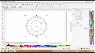 3 Easy Ways to Draw Gear with CorelDraw