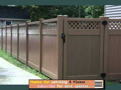 Vinyl Fencing That Looks Like Wood | Fences & Gates Collection