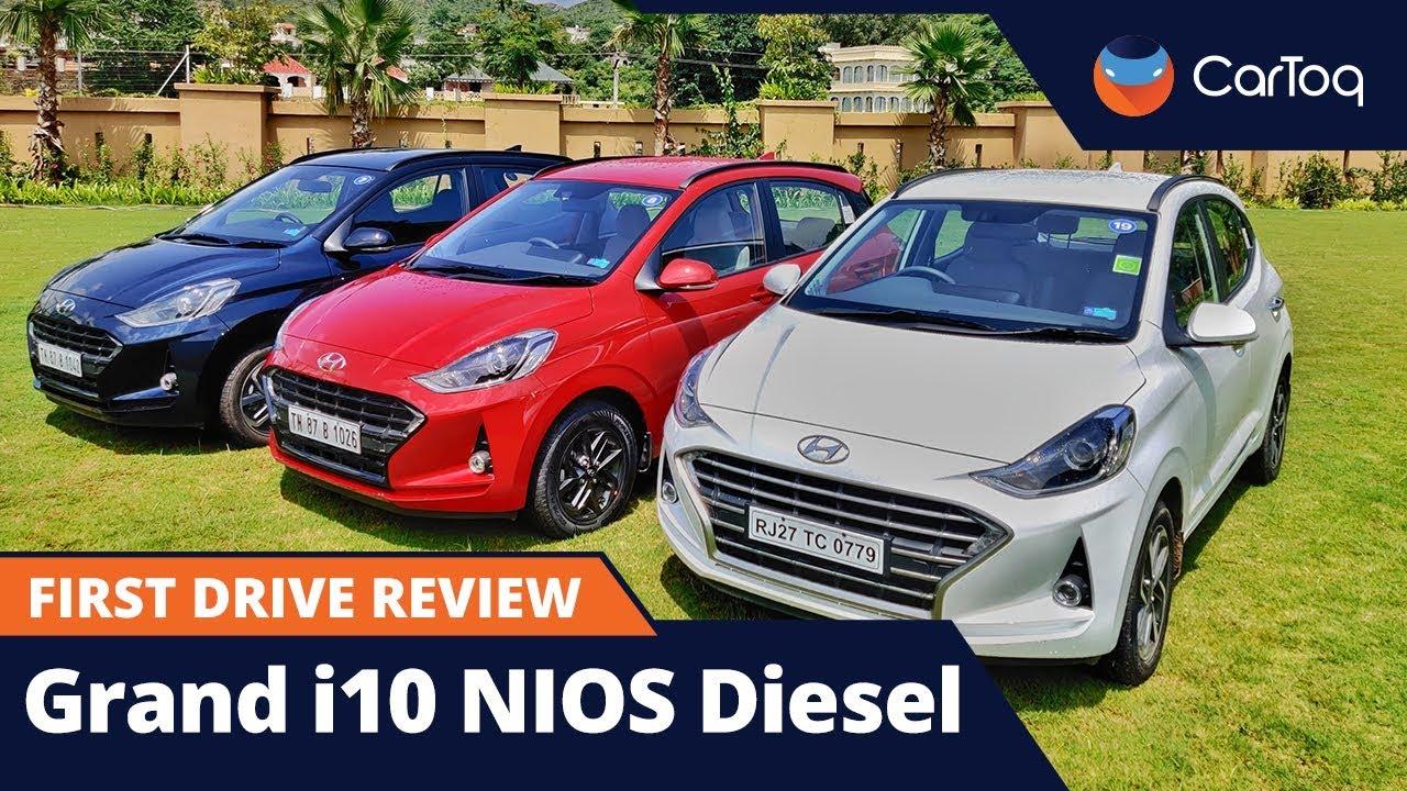 Hyundai Grand I10 Nios Diesel Manual Automatic Amt Review Youtube