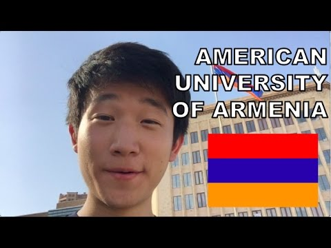 American University of Armenia Tour (in English)