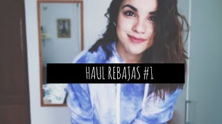¡HAUL REBAJAS! | PULL&BEAR, BERSHKA, HOLLISTER...| JARA