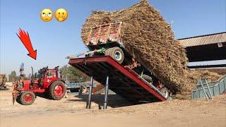 Belarus 510 Hydraulic Unloading Sugarcane Trailer | Punjab Tractors