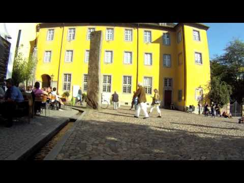 Walking around inside Freiburg