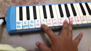 Lagu hymne guru | pianika cover