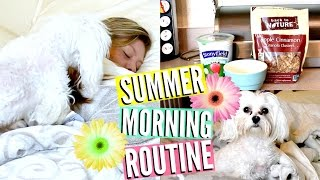 Morning Routine | Summer 2015 | Diy Starbucks Skinny Vanilla Latte