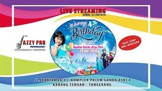 LIVE ULANG TAHUN CHANTIKA K3- 4 TH - KARYAWAN III KARANG TENGAH TANGERANG - JAZZY PRO HD