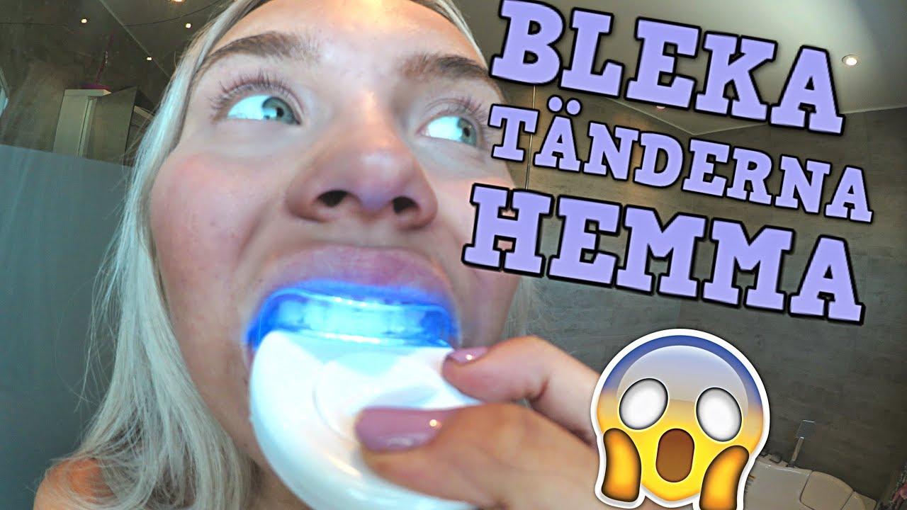 belissas tandblekning hur gör man