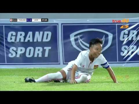 ชบาแก้ว ยู16 ทีมชาติไทย 5 - 2 ทีมชาติลาว