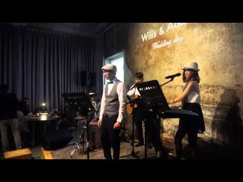 Marry Me  Cover By 貳樓.伴 @ 台北 Woolloomooloo  2015.12.19