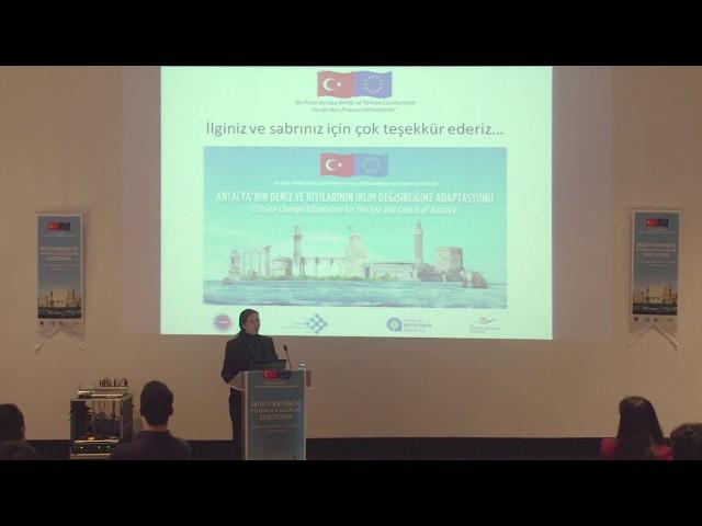 Proje Koordinatörü Dr. Elif ÖZGÜR ÖZBEK Çalıştay