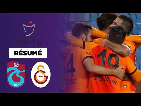Résumé : Le Galatasaray reprend la tête face à Trabzonspor !