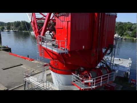 Kenz Figee 400t Crane - Load Tests