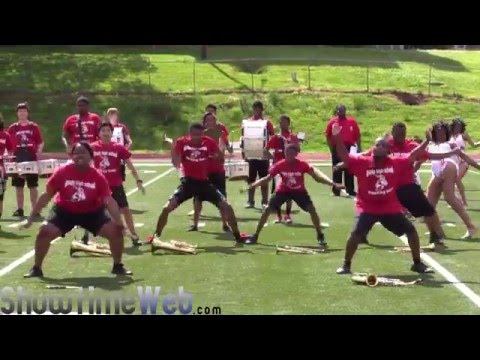 Grady vs Mount Zion High School Marching Band - 2016 CAU Spring Band Brawl BOTB
