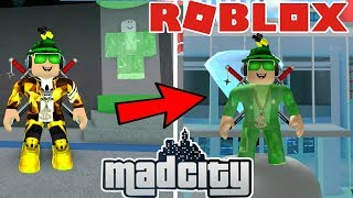 NEUE SUPERHEROS in ROBLOX MAD CITY / CATCHING ALL THE CRIMINALS
