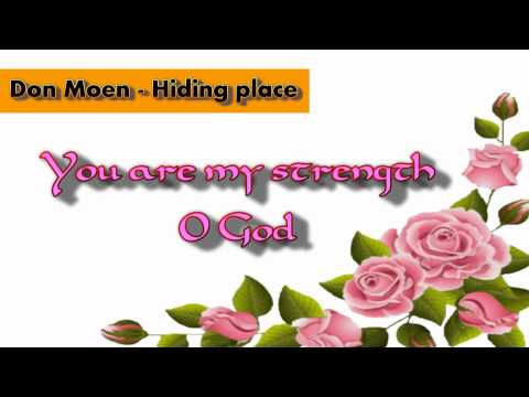 Don Moen - Hiding place (with lyrics)