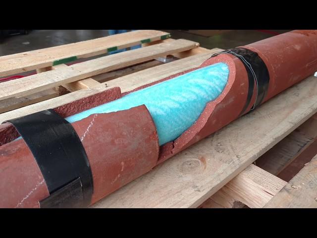 Broken clay pipe.