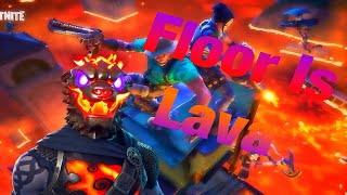 | Fortnite Battle Royale| Playing The Floor IsLava LTM! | NEW LAVA LEGENDS PACK| 350+ Wins |