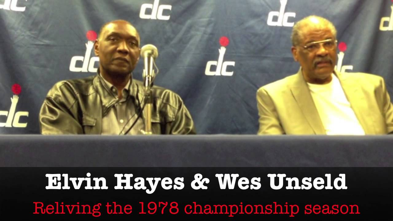 Elvin Hayes & Wes Unseld Talk Relive the 1978 Bullets championship