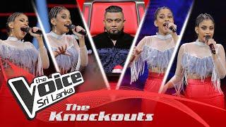 Kalani Athukorala | Ra Dawal Mal Hagum (රෑ දවල් මල් හැඟුම්) | The Knockouts | The Voice Sri Lanka Thumbnail