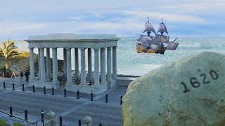 Gambar cover Historical Locations in Plymouth, Massachusetts - Plymouth Rock, Burial Hill & More