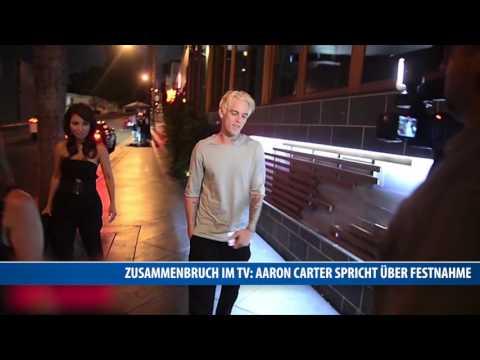 Zusammenbruch im TV: Aaron Carter spricht über Festnahme