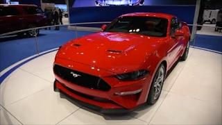 видео Ford Mustang 2017-2018 - фото, цена и комплектации, характеристики Форд Мустанг рестайлинг