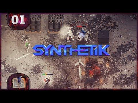 Angespielt: Synthetik – #01 Das Rogue-like Roboter Massaker :D [Deutsch]