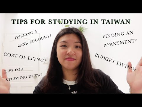 STUDYING IN TAIWAN | Tips, Budgeting, Cost of Living, Finding an Apartment 🏠💰📚